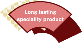 Long lasting speciality product